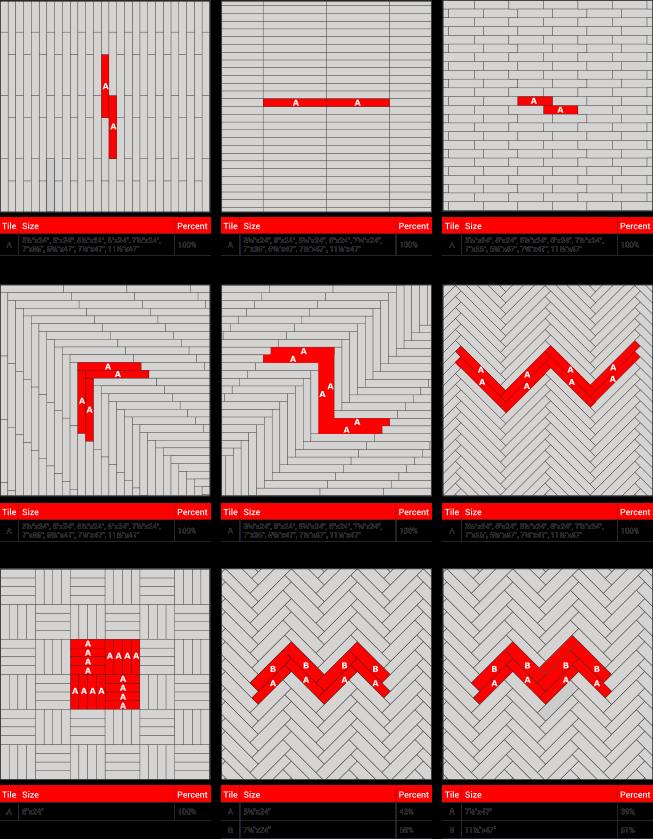 Tile Patterns Anchor Floors